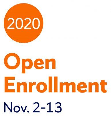 2020 Open Enrollment Nov. 2-13