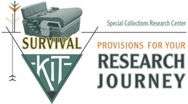 Special Collections Research Center Survival Kit: Provisions for your Research Journey