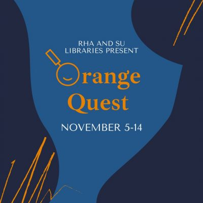 RHA and SU Libraries Present Orange Quest November 5-14