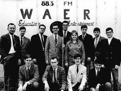 WAER students in 1969