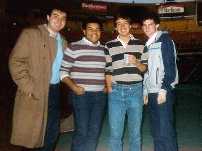 WAER alumni at Veterans Stadium in Philadelphia