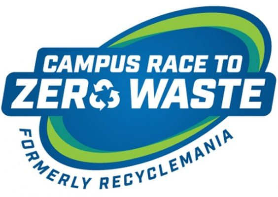 Logo with Campus Race to Zero Waste
