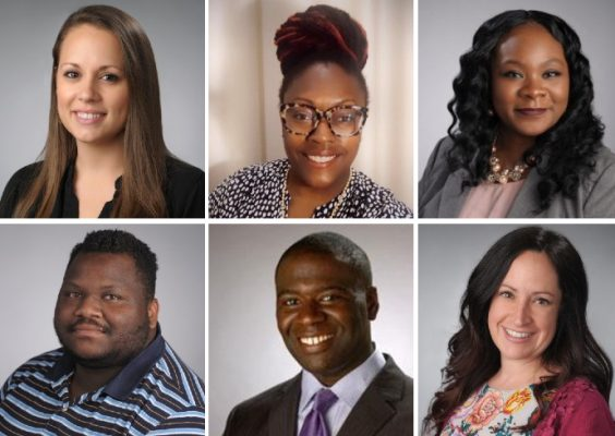 composite of six headshots of Dean of Students Office staff members