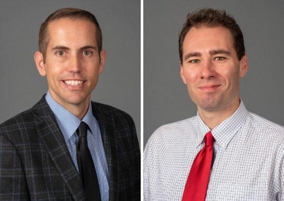 Scott Davis and Chris Dunham headshots