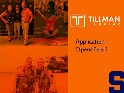 Tillman Scholar collage