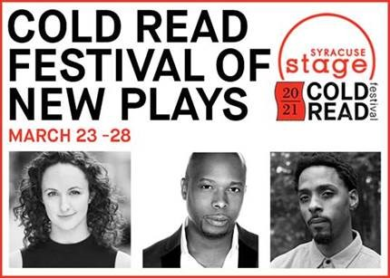 Cold Read Festival of New Plays March 23-28
