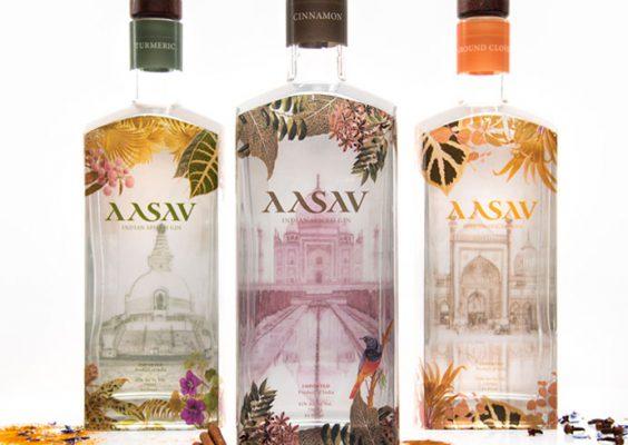 Packaging design for three bottles