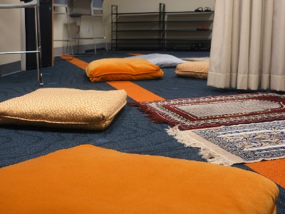 Pillows in the MSA room
