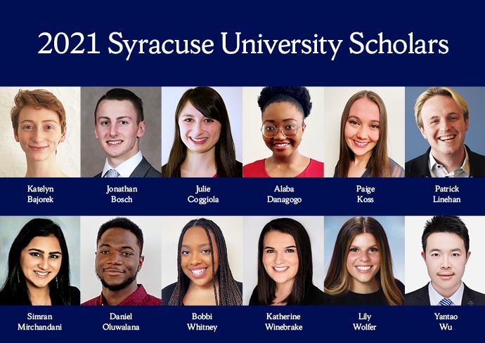 University Scholars graphic
