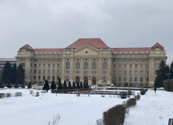 University of Debrecen exterior
