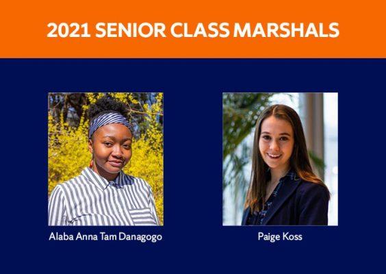 Senior Class Marshals