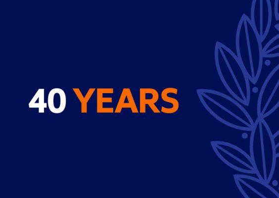 40 Year Milestone