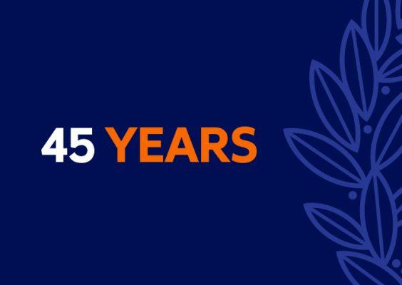 45 Year Milestone