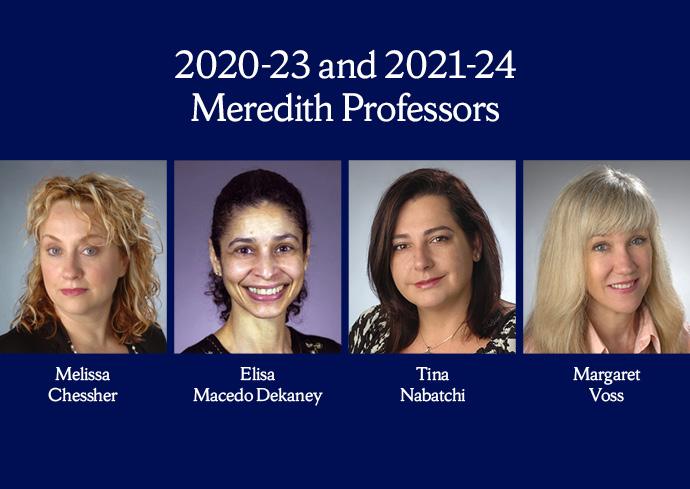 Meredith Professors