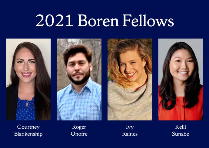 2021 Boren Fellows