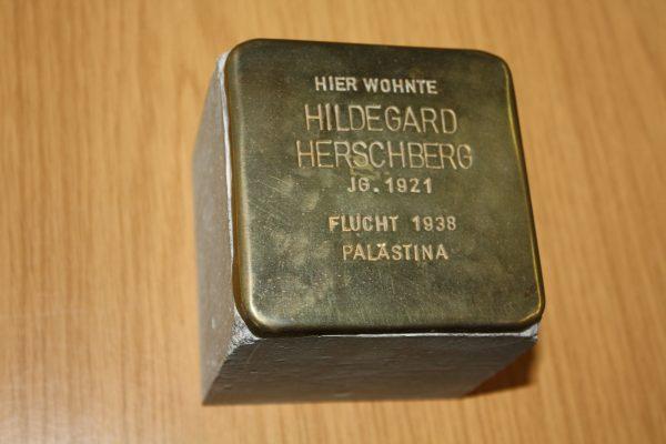 Stolpersteine for Hildegard Herschberg