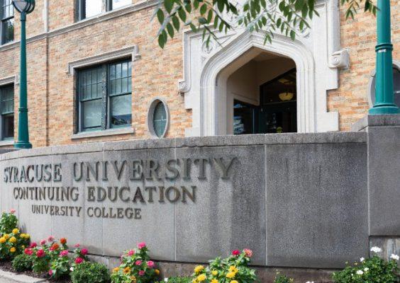 exterior view of University College building