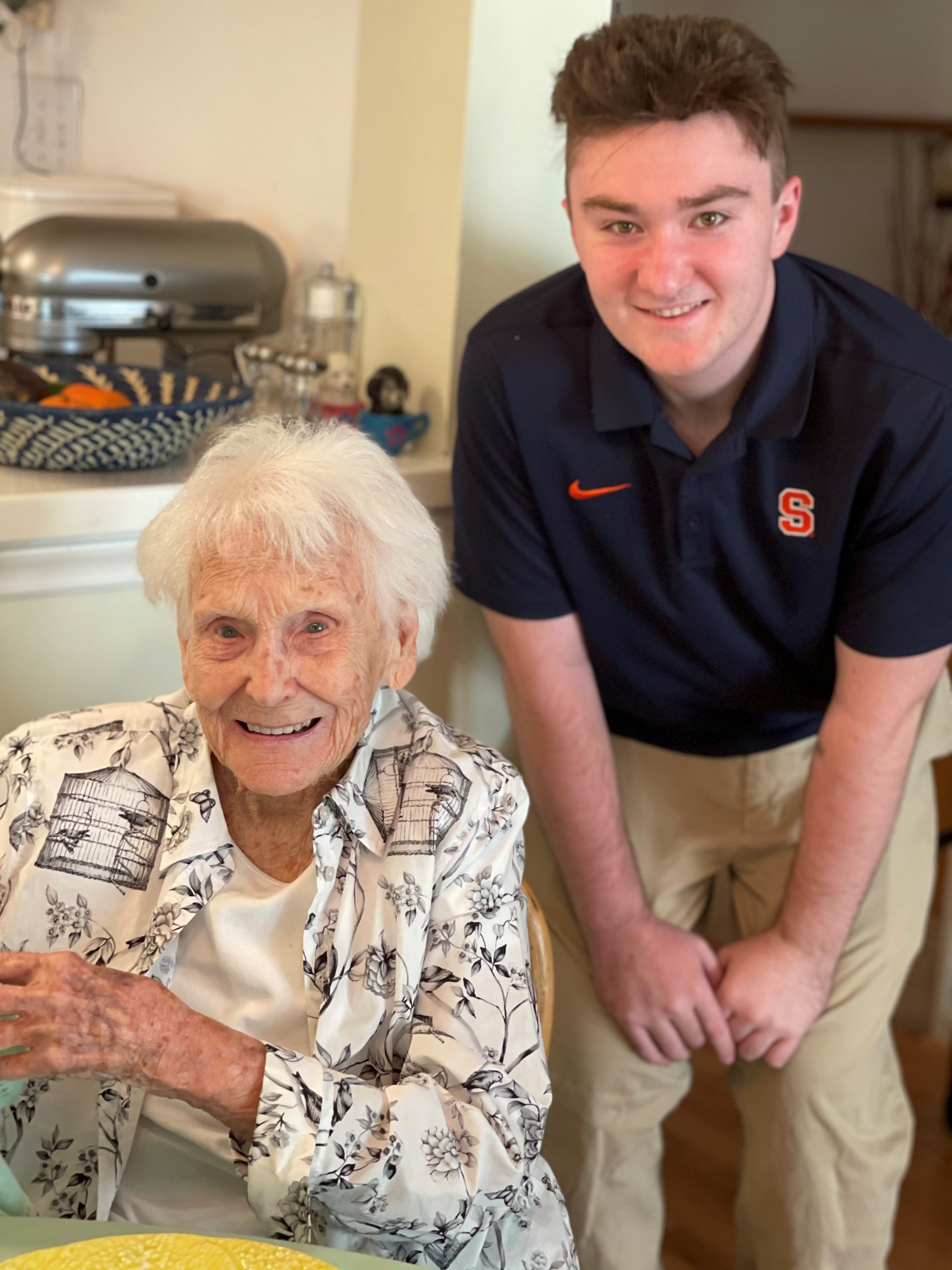 Ethan Gunther and great grandmother