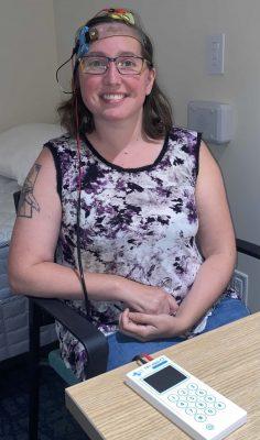 Patient in CSD study