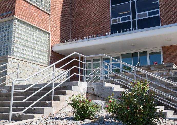 Robert Menschel Media Center building