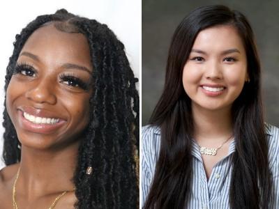 Ashanti Hunter and Michelle Ho