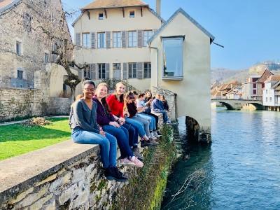 Students in Besancon, France