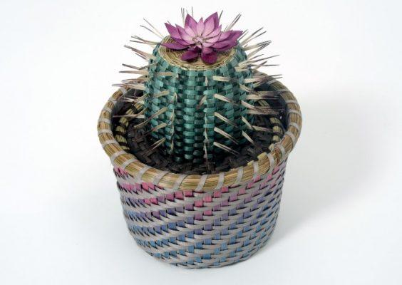 Ann MItchell, Cactus Basket, 2017