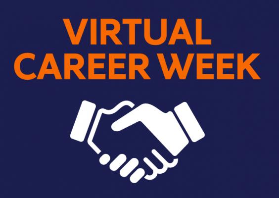 Virtual Career Week graphic