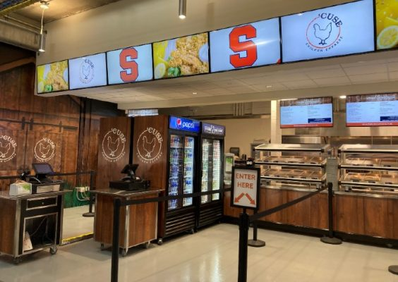 'Cuse Chicken Express concessions at the stadium
